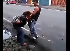 Colombian bitch synod a blowjob around the middle of the road