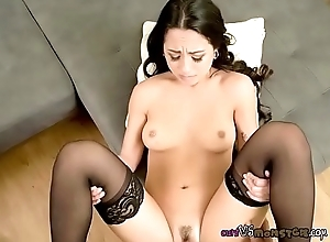 Pretty Babe Mi Ha Gets Her Pussy Stretched