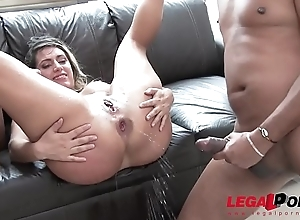Mia Linz 3on1 monster weasel words fuck session with respect to DP &amp_ pissing