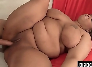Chubby Sara Wilson Gets a Guy Not present with Her Pussy, Big Belly and Tits