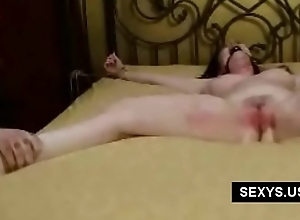 Big titted naked slave
