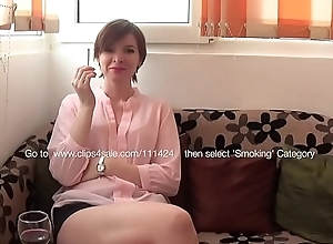 The Romanian Beauty Smokes For You
