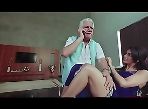 Om Puri and Mallika Sherawat Fucking Bare-ass Scene - Hot Masala Scenes from Bollywood Movie Dirty Politics - Blowjob