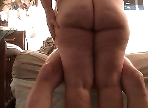 chubby fit together sitting on my cock