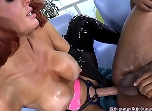 Mature domina strapon drilling subs ass