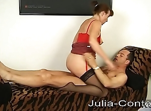 Housewife and Caretaker fuck together