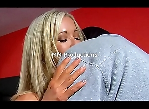 Man behind The Mask ...A stranger cums on Mandy Monroe