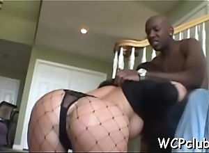 Stunning babe with great forms of body fucked in anal opening