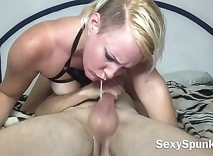 Bounce out of reach of that Big Dick &amp_ Swallow My Cum -SexySpunkyGirl
