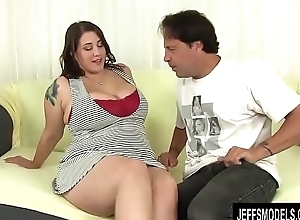Full Figured Seductress Angel De Luca Uses Her Charms in the air Please a Hard Cock
