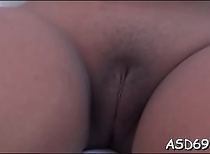 Well-stacked oriental bitch gets screwed in various positions
