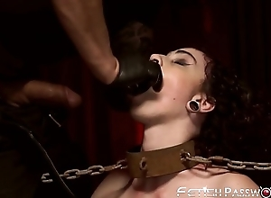 Offbeat Lydia Black punished with hard dicking by hung stud