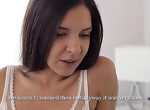 Experienced brunette Henessy teaches Lovenia Lux secrets of Sapphic love
