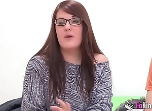Normal looking girl has a great sex session with her boyfriend since boarding-school