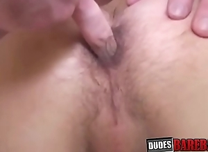 Attractive bottom fingered added to raw banged after sixtynine