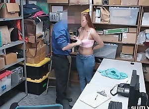 Ornella'_s tight pussy pounded by officer more charge