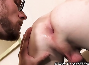Good looking stepson receives big millstone in the ass from daddy