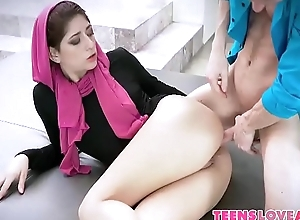 Horny Hijab Girl Unveils Her Asshole - Nikki Knightly, Codey Steele