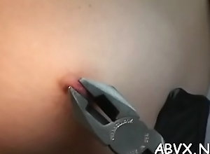 Naked doll amazing fetish servitude sex scenes with old man