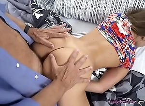 Teen Slut Liza Rowe Gets Impaled By Dads Lawyer