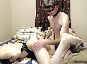 Slutty Trans Ass Eaten And Teased By Her  Mature Partner