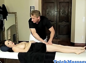 Massage loving MILF with bigtits gets fucked