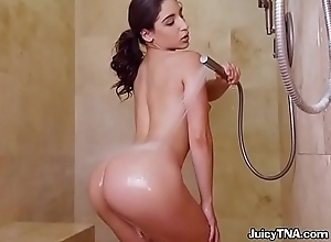 Bootylicious Babe Abella Danger Takes A Shower