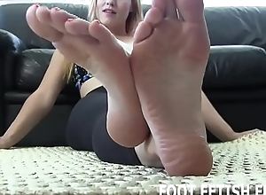 I have decided more authorize you worship my feet