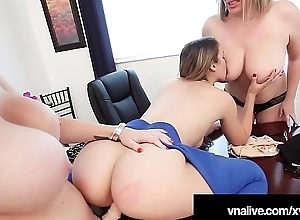 Kimber Lee Is Spanked By Principal Sara Jackass - VNALive.com!