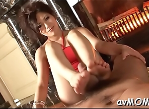 Young mother i'_d like to bonk gets boned with fat dildo and a biggest cock to sucks