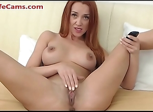 Prex redhead beauty takes say no to pussy for a spin