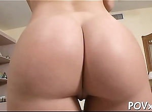 Massive pecker satisfies filthy and nasty babe to the max