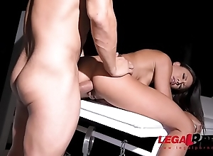 Tattooed Golden Shower slut Cassie Del Isla Dominated By BDSM Husband GP102
