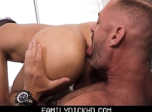 Horny Step Dad Fucks Step Son After Being Jealous Of His New Boyfriend