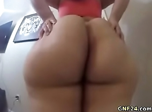 Hot BBW shaking her fat ass on webcam