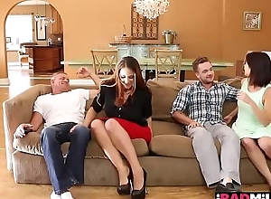 File for Chapter Eleven Raquel rides her milf wet pussy on Kyle Masons hard young cock on top!